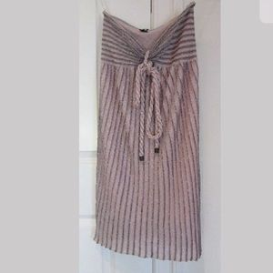 M Missoni pink part slip dress size 40/S